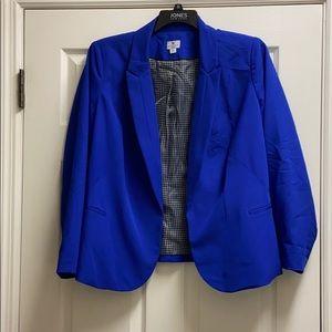 Blue Worthington Blazer 2X